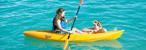Have great fun with our Canoes